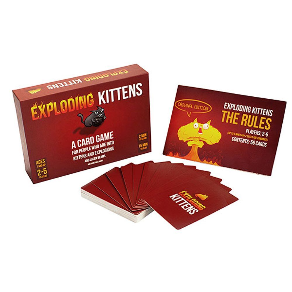 Exploding Kittens With Images Exploding Kittens Card Games Party Card Games