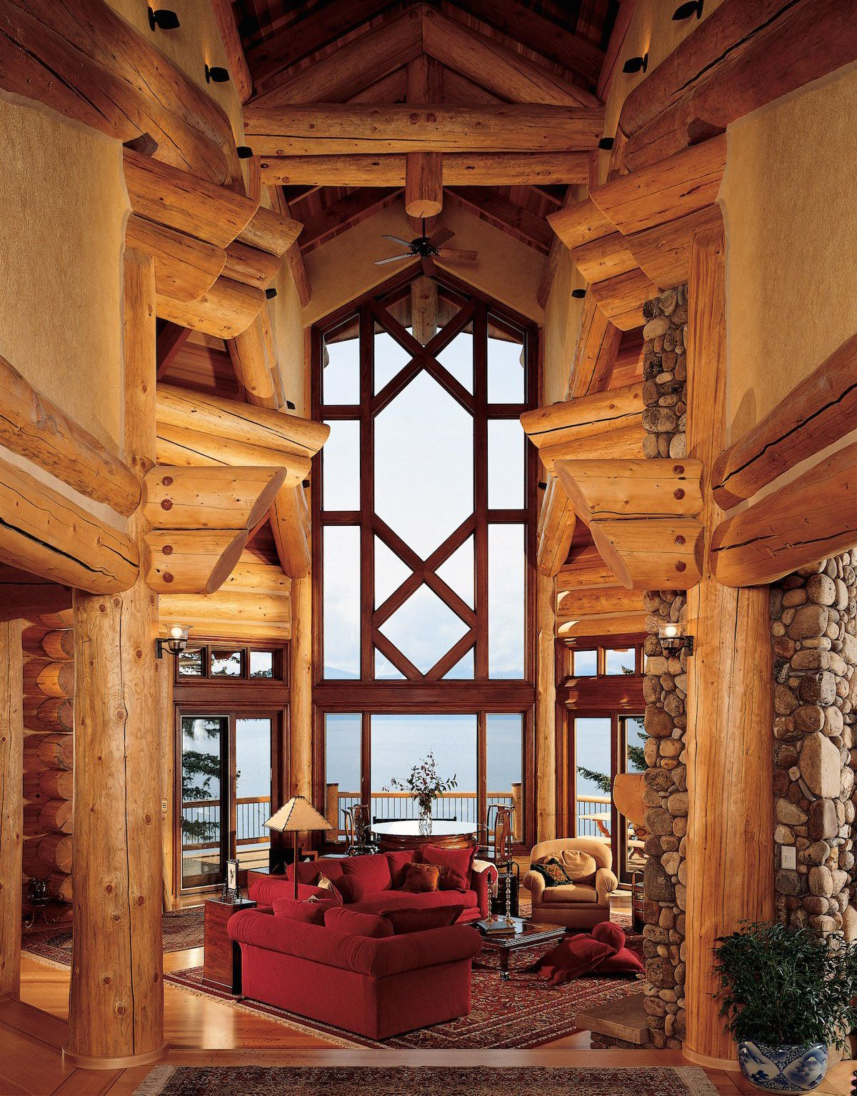 pioneer log homes lake home cabins pinterest logs lakes and cabin. Black Bedroom Furniture Sets. Home Design Ideas