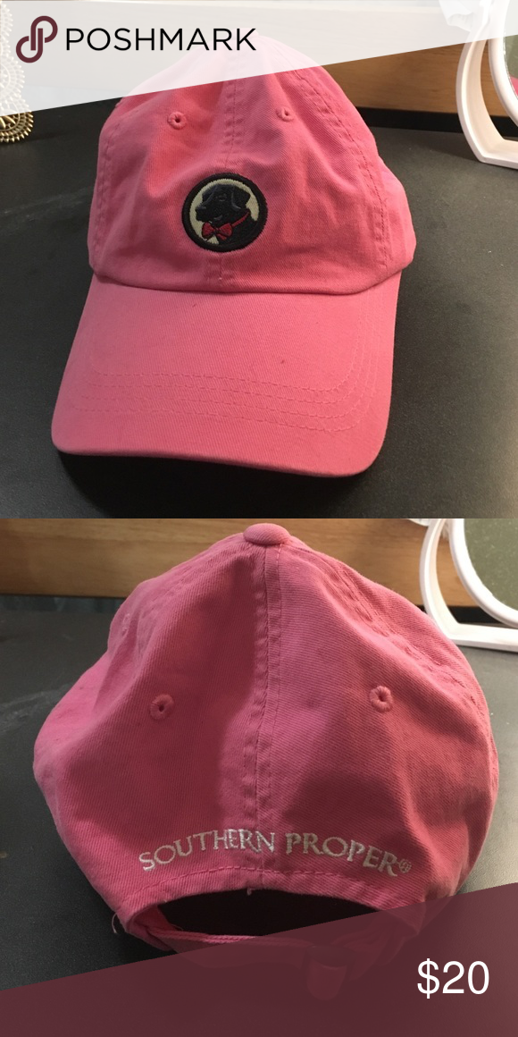 Pink Labrador southern proper hat Brand new. Never worn. Very authentic Accessories Hats
