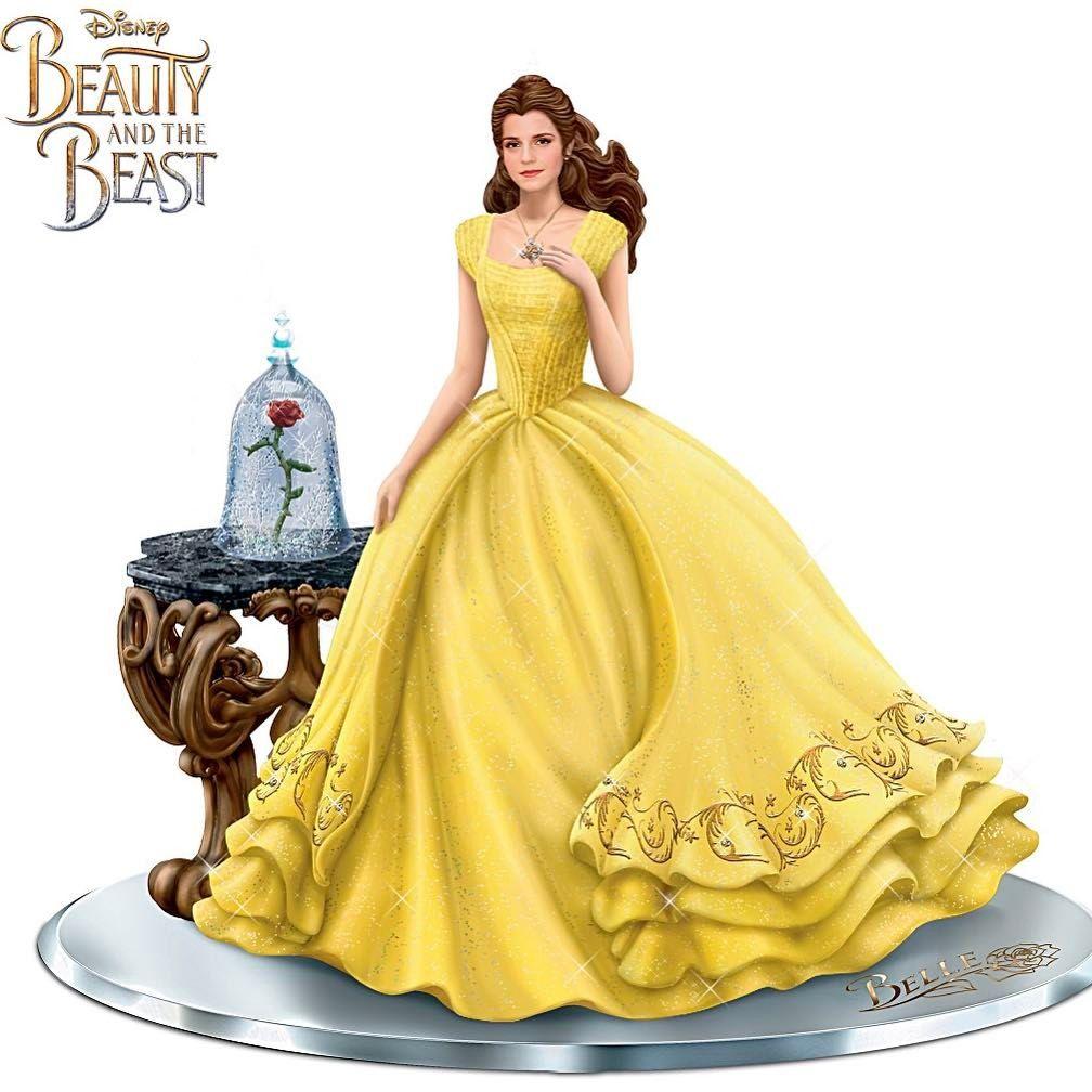 Belle figurine from bradfordex beautyandthebeast batb disney