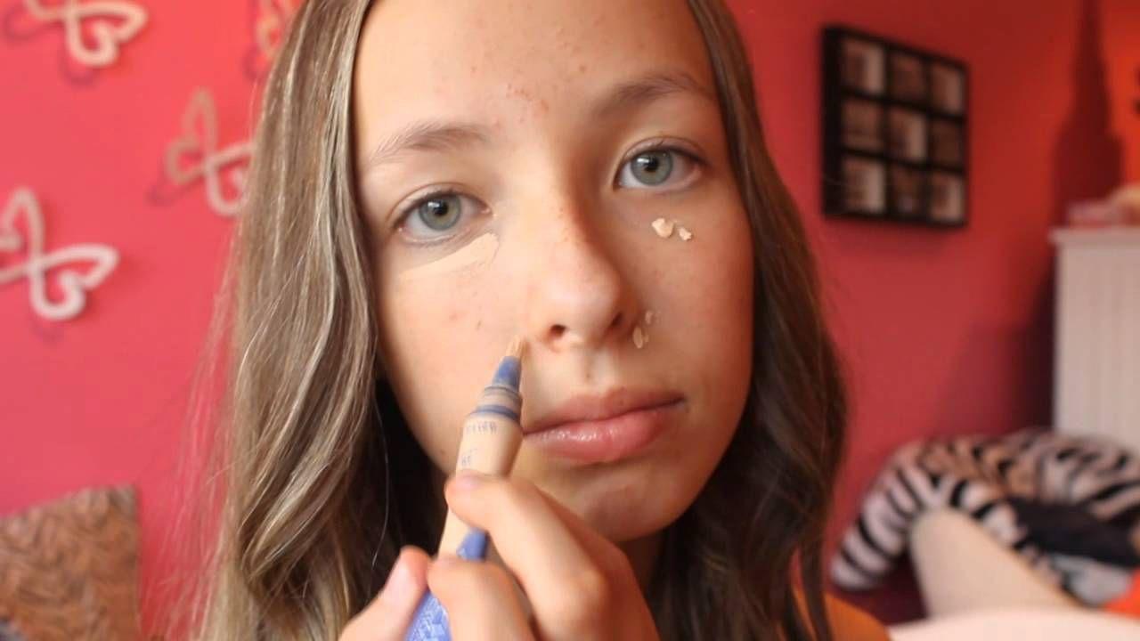 Back to school makeup and hair tutorial tweens teens back to school makeup and hair tutorial baditri Gallery