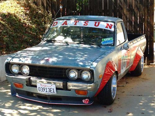 Datsun 620 Pickup. Hakosuka Style | From The Land Of The ...