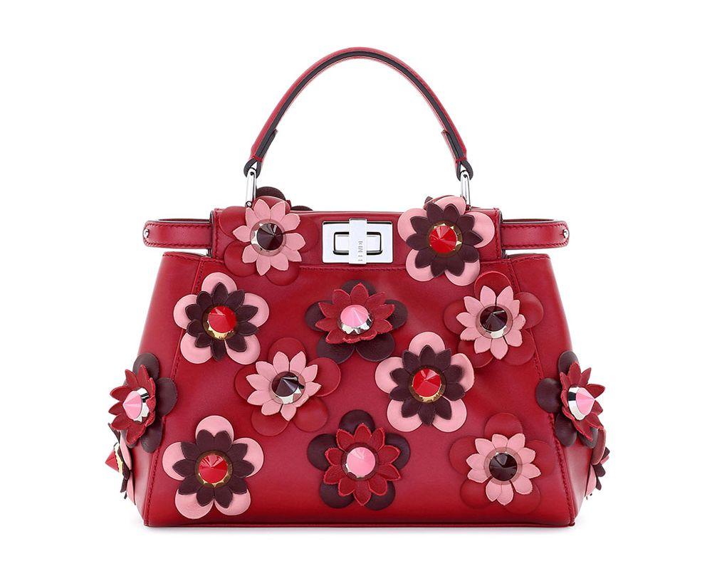 Fendi Handbags Red