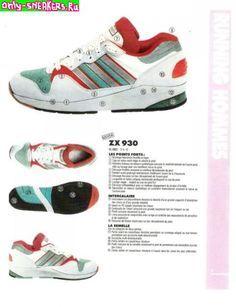best website 0541e 985b9 Adidas ZX 930  Adidas catalogue  Pinterest  Adidas, Adidas Z