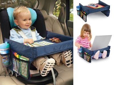 Baby kid Safety Waterproof  Car Seat Travel Snack Play Table Tray Drawing Board
