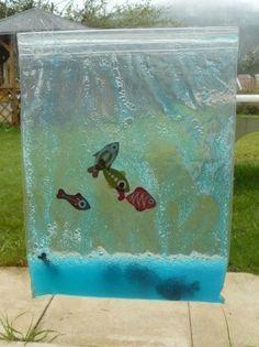 aquarium tactile aquarium sensoriel et activit. Black Bedroom Furniture Sets. Home Design Ideas