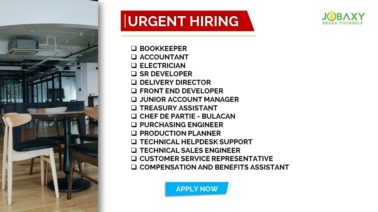 Pin by Jobaxy on Job Vacancies Company job, Effective