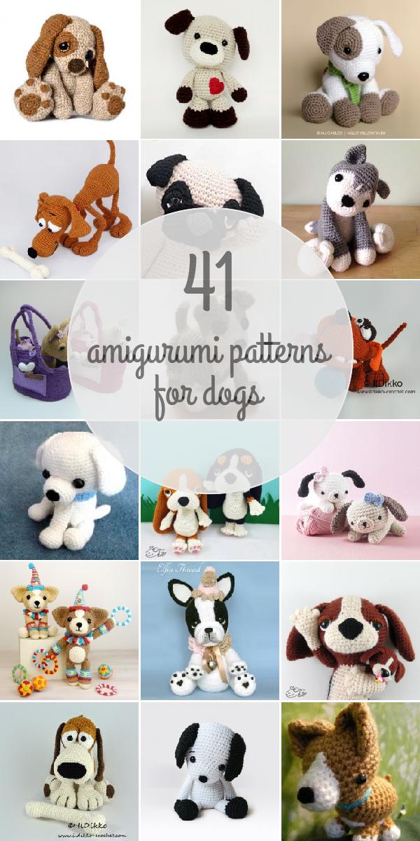 Dogs Amigurumi Patterns | AMIGURUMI | Pinterest | Patrones amigurumi ...