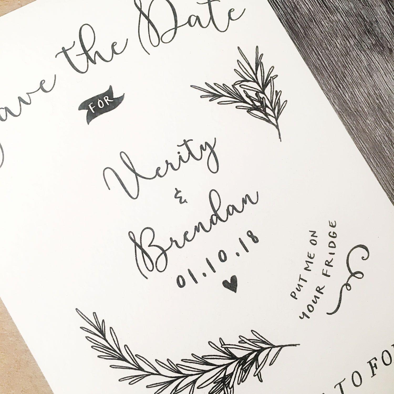 Emmy Designs Rustic Wood Wedding graphics, Save