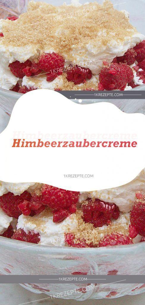 Himbeerzaubercreme #entremetframboise