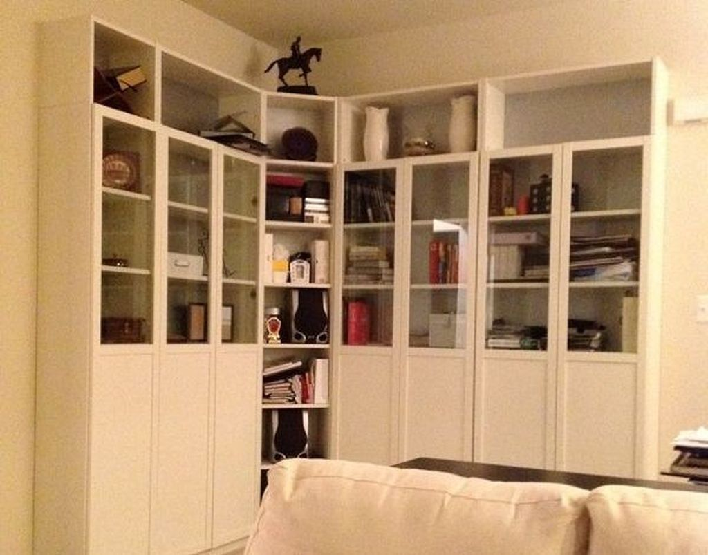 Adorable Ikea Billy Bookcases Ideas 23