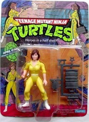 5 inch Playmates Teenage Mutant Ninja Turtles April O/'Neil TMNT Action Figure