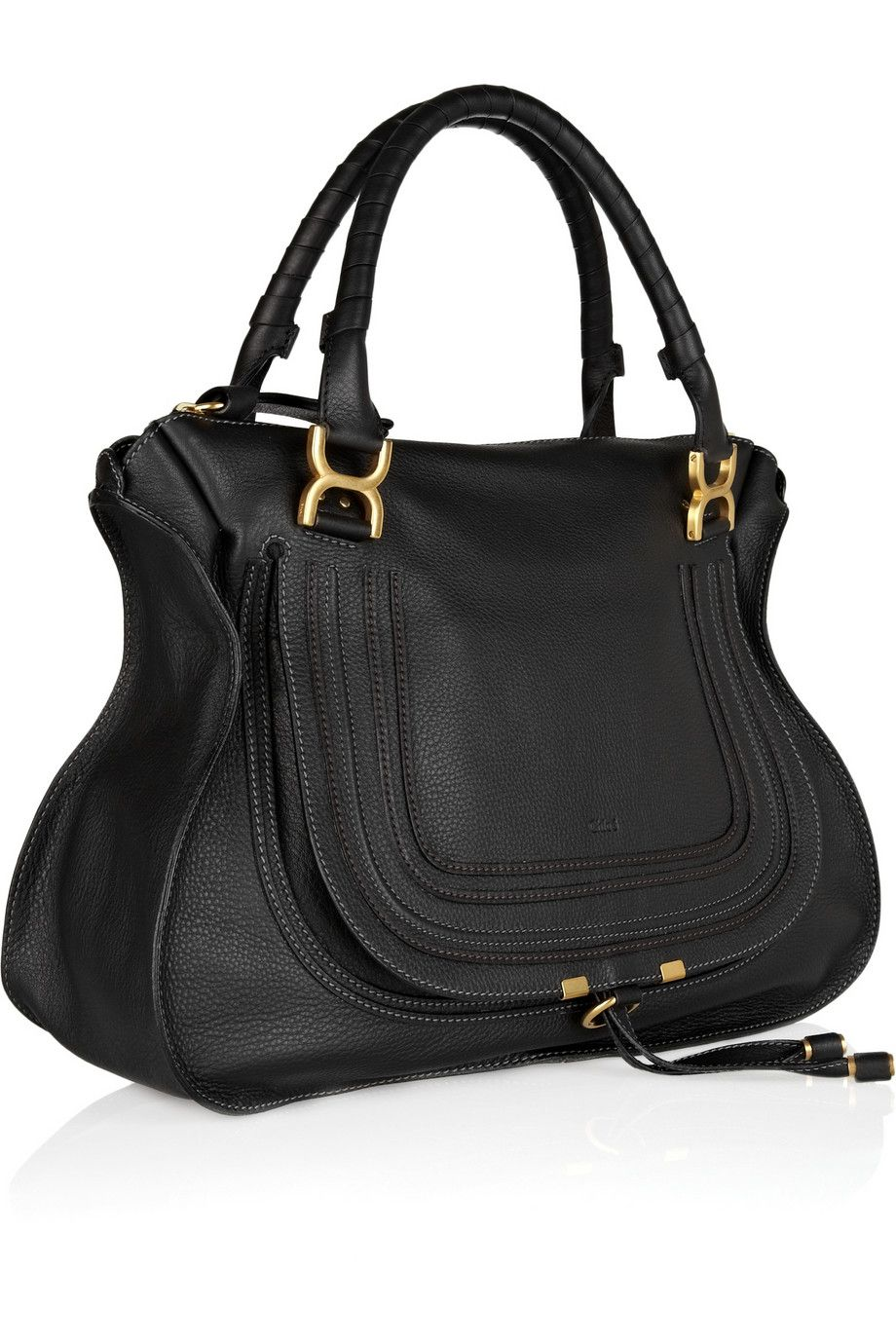 849234df9 Chloé   The Marcie large textured-leather tote   NET-A-PORTER.COM ...