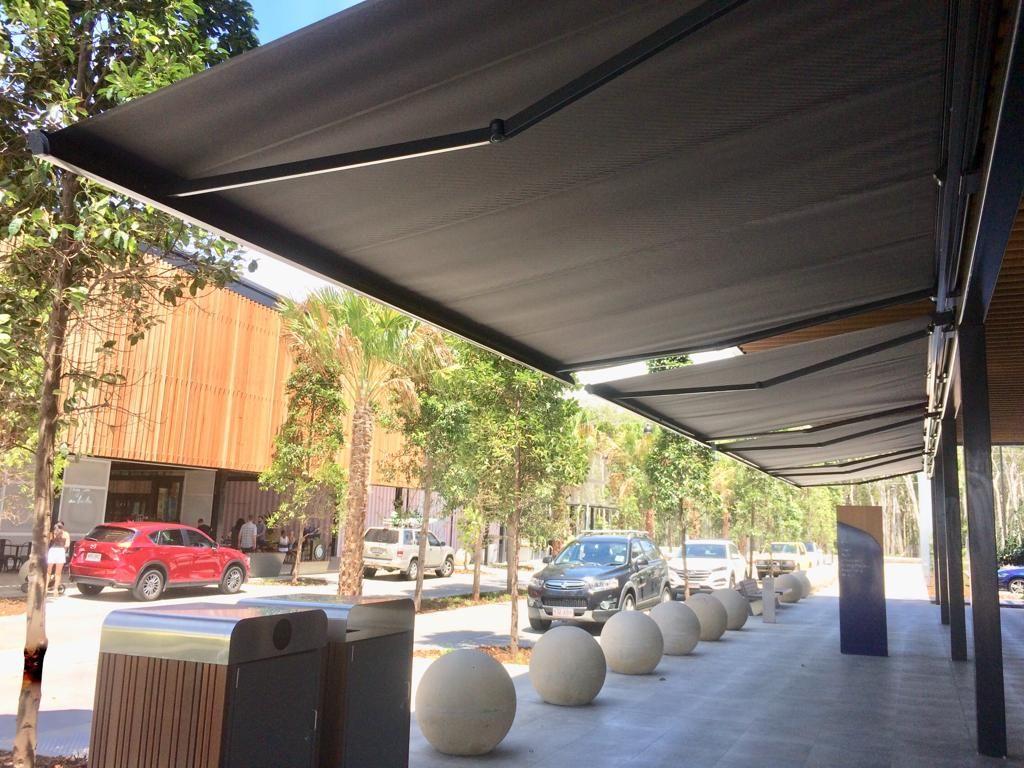 Retractable Folding Arm Awnings Brisbane | Awning ...