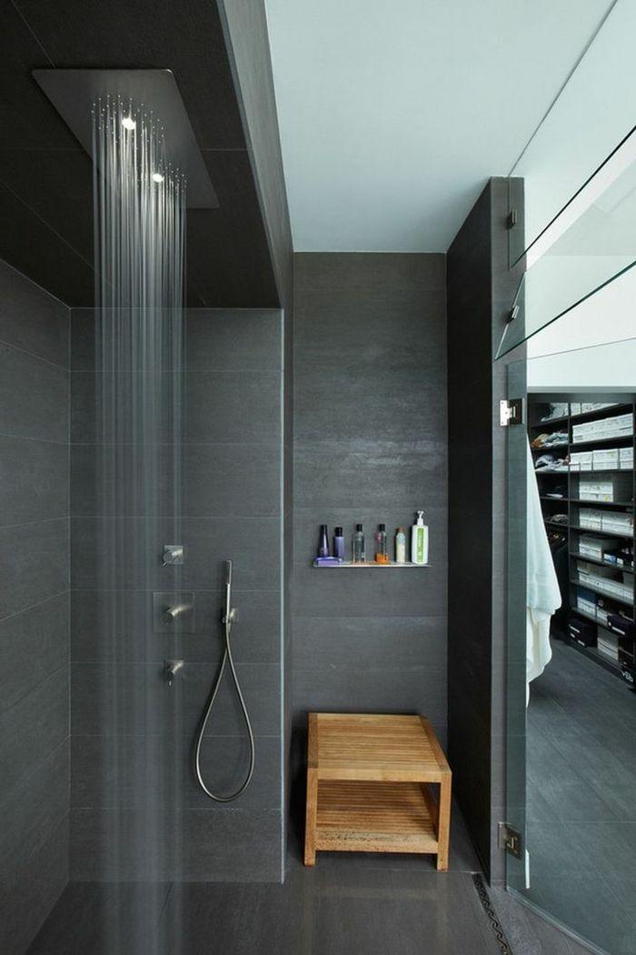 1001 ideas de duchas de obra para decorar el ba o con for Disenos de banos pequenos con ducha modernos