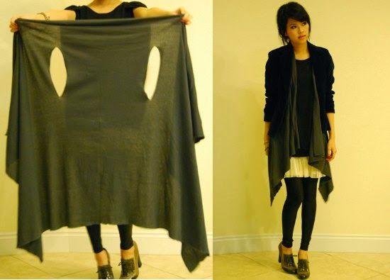 Como hacer un Chaleco Fashion sin costuras Proyecto