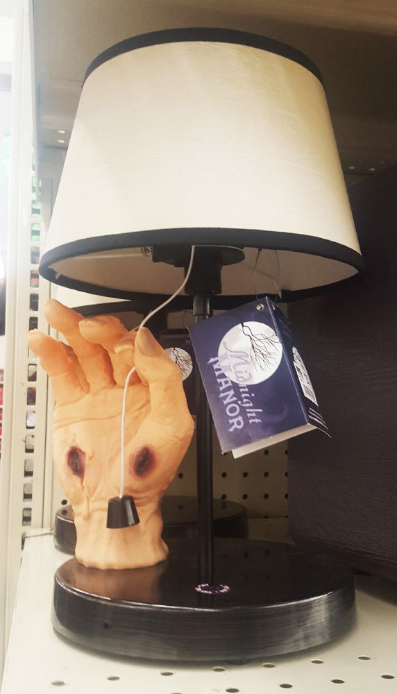Thing Lamp Halloween 2017 At Big Lots Stores With Images
