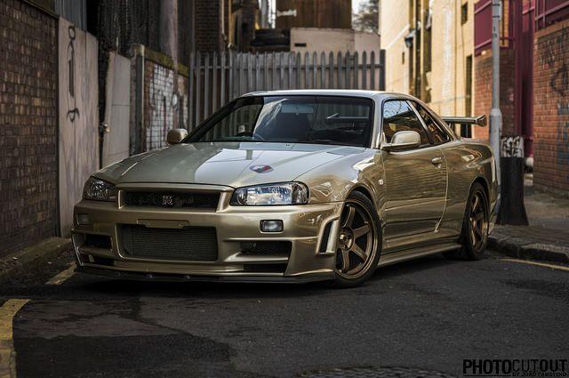 Photocutout: Nissan Skyline GTR R34 M Spec On Flickr.