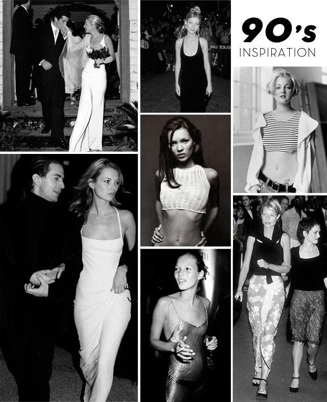Zoe Kravitz Vs Amber Heard: 90's It Girls Icons Inspiration Carolyn Bessette-Kennedy