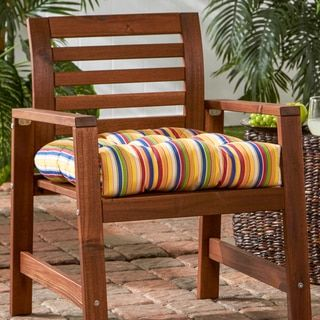 20 inch sunbrella outdoor chair cushion stripe gardens inches and 45 rh pinterest com