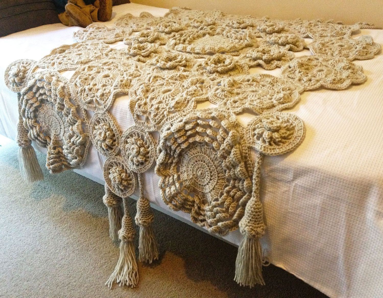 Temair Throw - Pattern from Lion Brand | Crochet | Pinterest