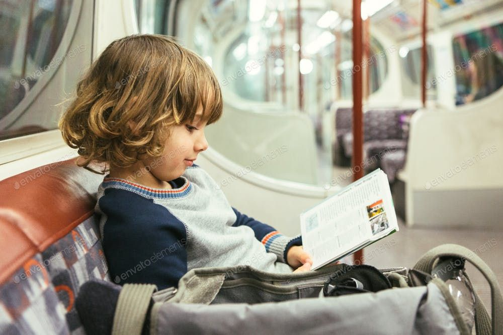 Child Traveling By Subway By Click And Photo S Photos Ad