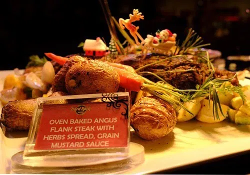 Hard Rock Hotel Penang Promotion Festive Buffet 2019 Christmas Dishes Hard Rock Hotel Slow Roasted Turkey
