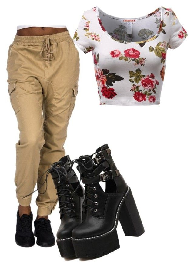 """""""Sigh"""" by cheyenne-dodds on Polyvore featuring WithChic"""