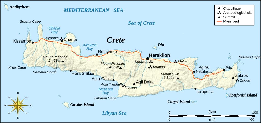 DIA 7: CRETA. KNOSSOS Y FALASSARNA   Creta, Viaggi