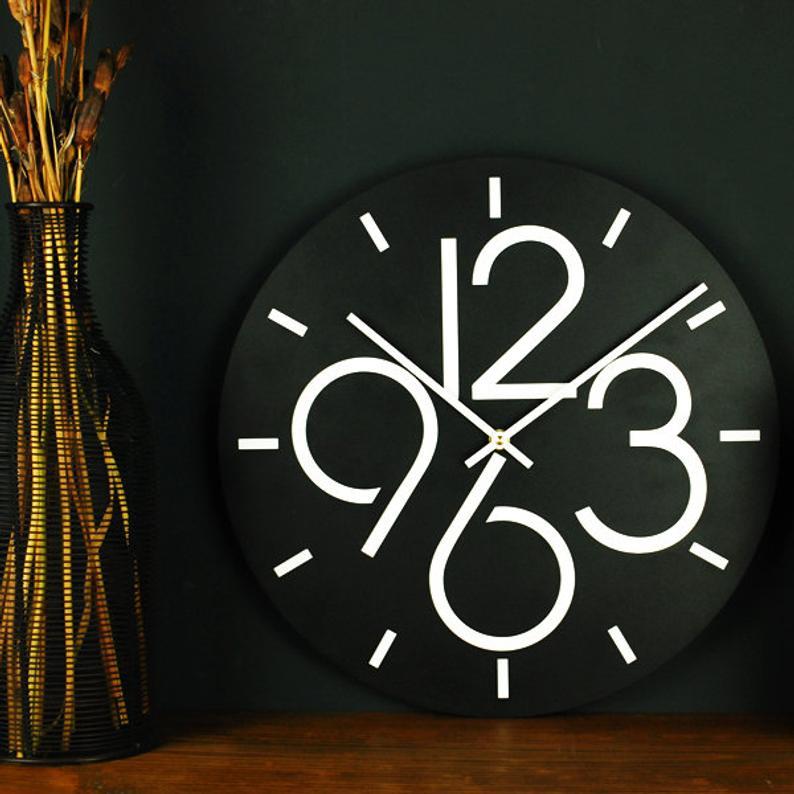 Wall Clock Glozis Dublin Modern Wall Clock Unique Clock Classic Clock Black Wall Clock Minimalist Clock Office Wall Clock In 2020 Wall Clock Modern Wall Clock Minimalist Clocks