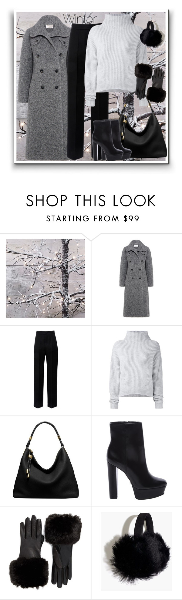 """""""Winter"""" by marionmeyer ❤ liked on Polyvore featuring Carven, Lanvin, Le Kasha, Michael Kors, Schutz, Ted Baker, Madewell and Winter"""