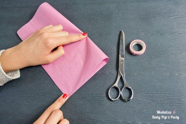 ..DIY.. Guirlande de pompons Tassel (simple & rapide)