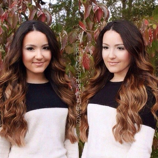 Bellami hair Extensions are the best!! These are Chestnut brown. Code
