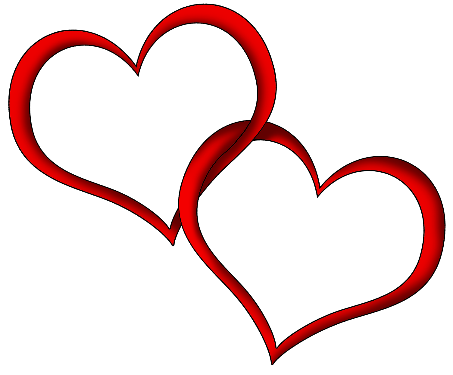 Transparent Red Hearts Png Clipart Picture Love Heart Images Heart Clip Art Heart Images