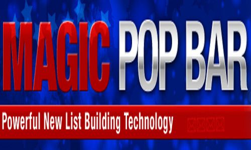Magic Pop Bar Another Amazing List & Lead Capture App With New Subscriber Attach Technology