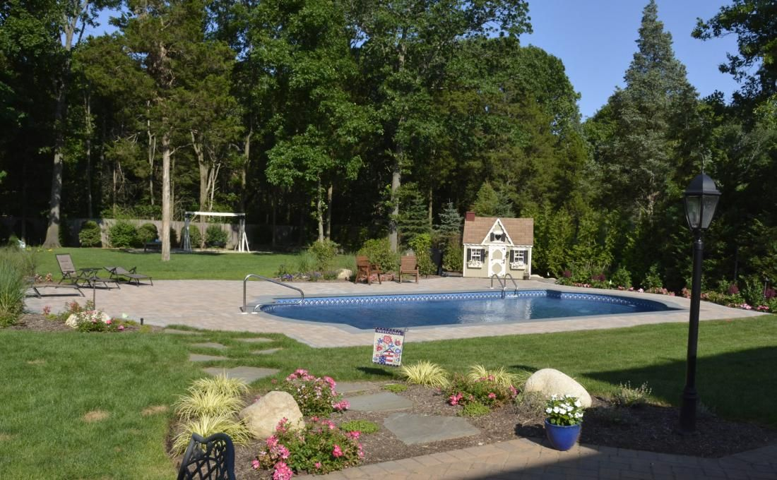 Cambridge Pavingstone - Pool Patio Syosset NY | Autumn Leaf ...