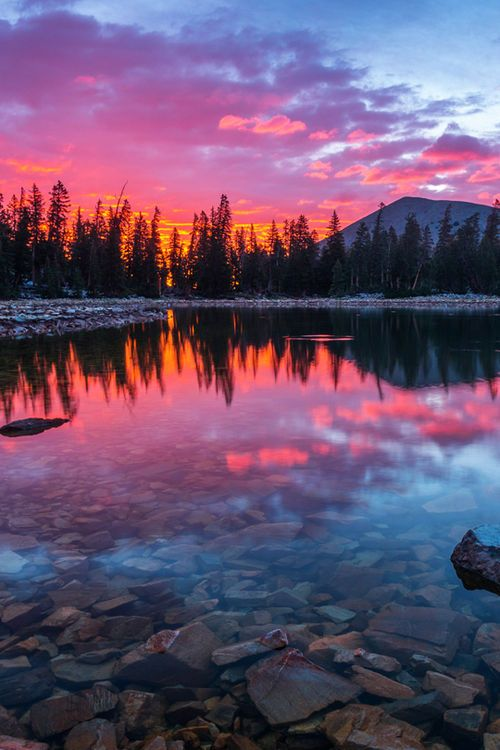Lake Sunset Nature Pictures Beautiful Nature Landscape Photography