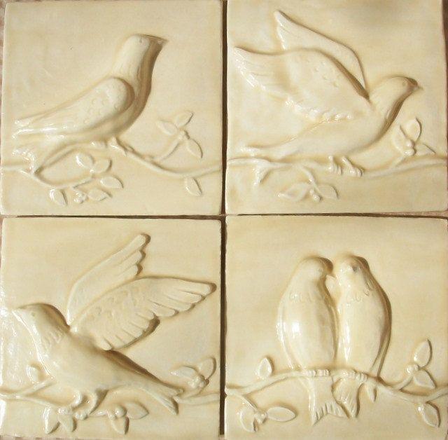 Clay Relief Tiles | Tile Design Ideas