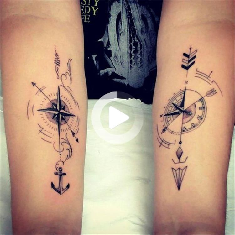Photo of 45 Creative And Unique Couple Matching Tattoo Designs For The Coming Valentine's Day – Page 17 of 45