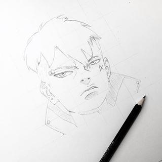 Like most of you have guessed right .. It will be #Kawaki 😁🤗 Final drawing video will be uploaded tomorrow on my YouTube channel 😋👆🏼 #naruto #boruto #kawaki #sarada #sasuke #kakashi #narutoart #narutodrawing #borutoart #borutodrawing #mitsuki #orochimaru #animeart #animedrawing #borutouzumaki #rocklee #metallee #mightguy #artshareofficial #inprogress #outlines #shinki #gaara  #borutomanga #narutomanga  #slikk1_art_motivation #worlddeart  #danzo #itachi #tobi