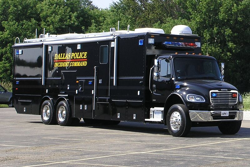 Dallas, TX PD Freightliner LDV Mobile Command Center