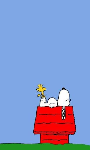Snoopy Wallpaper Free App For Android Quotes Peanuts Gang Comic