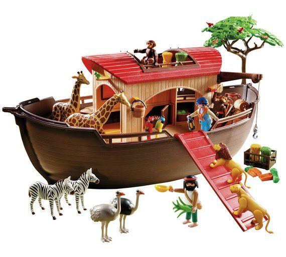 Playmobil 5276 Wild Life Noah S Ark Playset At Argos Co Uk Visit To Online For Animal Playsets And Collectables Toys