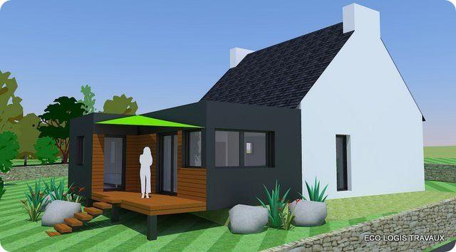 R sultat de recherche d 39 images pour agrandissement maison for Agrandissement de maison en bois