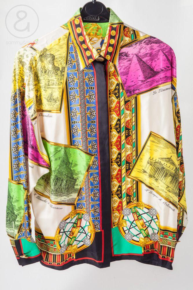 25c3b7b2 Just ordered this vintage Gianni Versace shirt! | Fashion | Versace ...