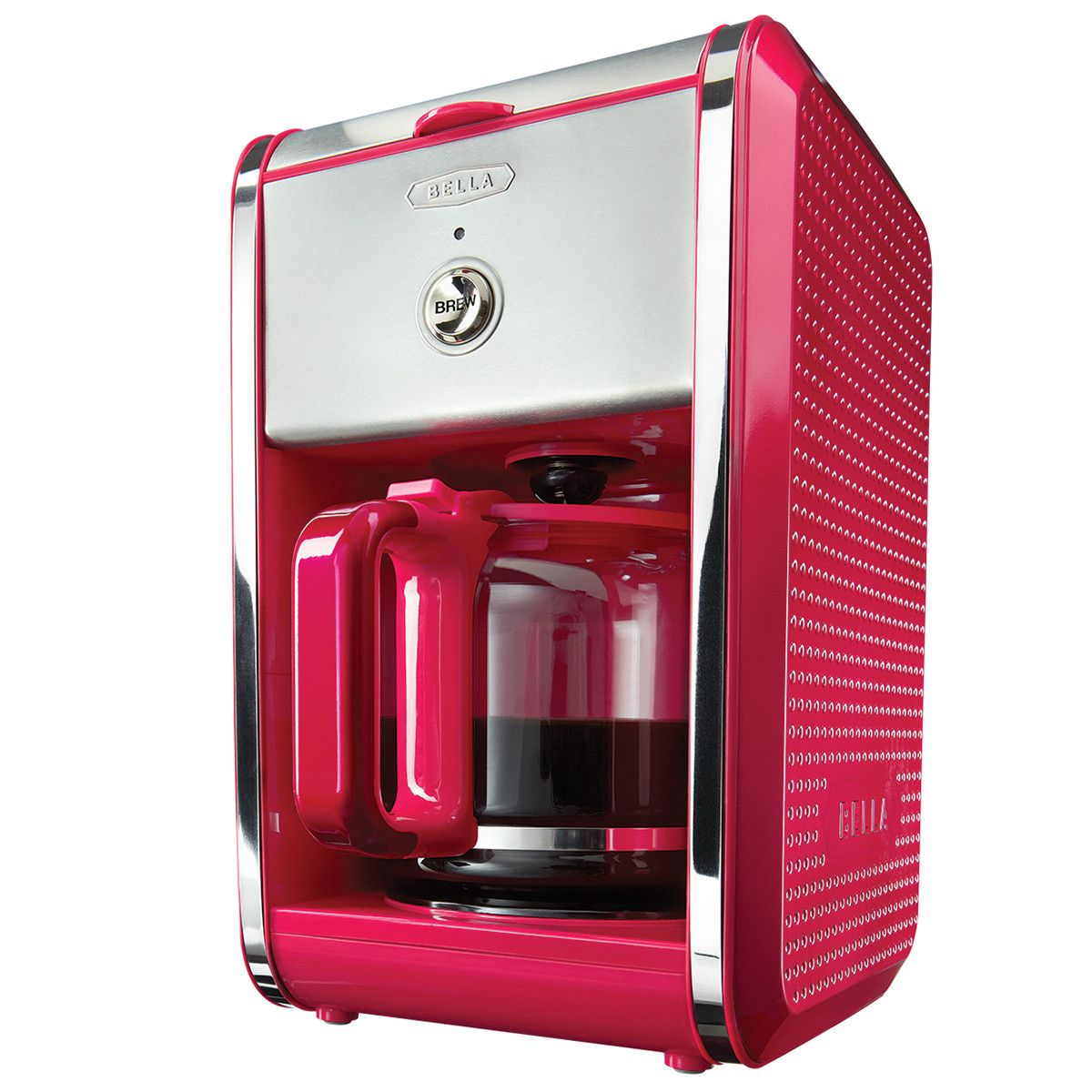 Dots 12 cup coffee maker pink coffee maker