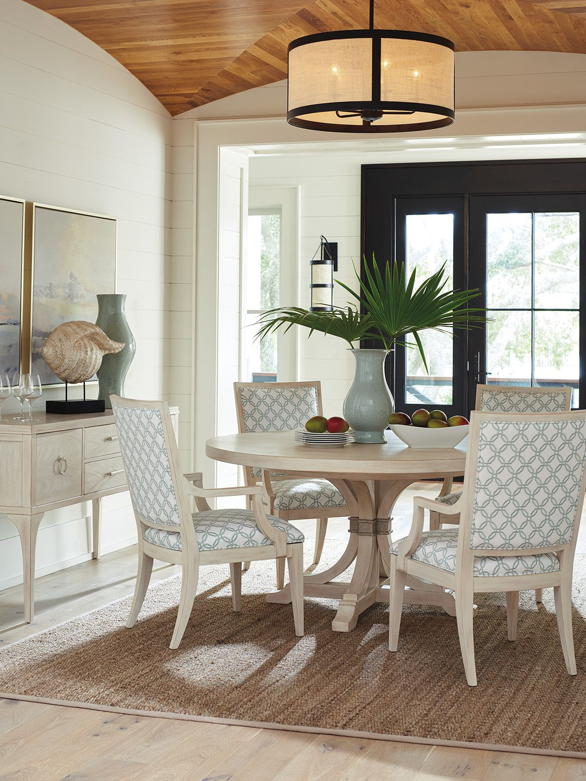 Newport Magnolia Round Dining Table Lexington Home Brands