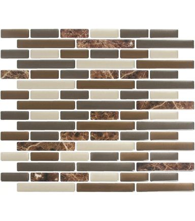 Peel Amp Impress 4pk Mix Brown Marble Home Ideas Vinyl