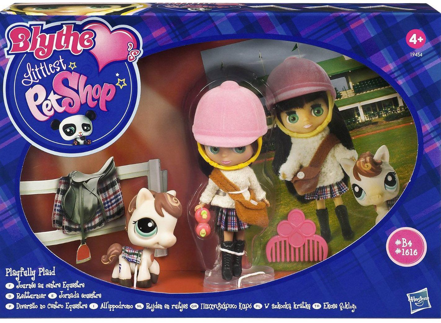 Littlest Pet Shop Blythe Playfully Plaid