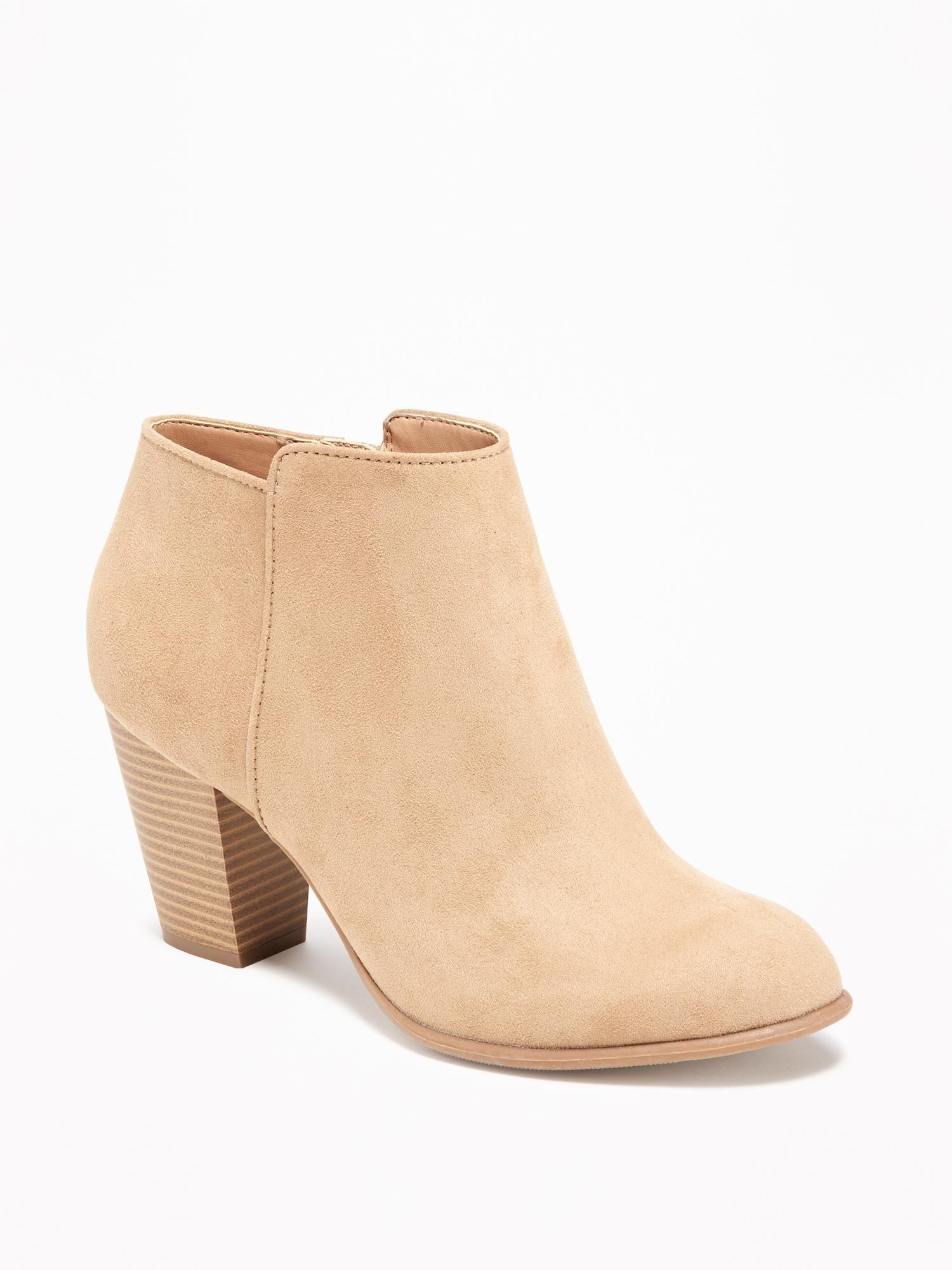 Sueded Ankle Boot for Women Old Navy